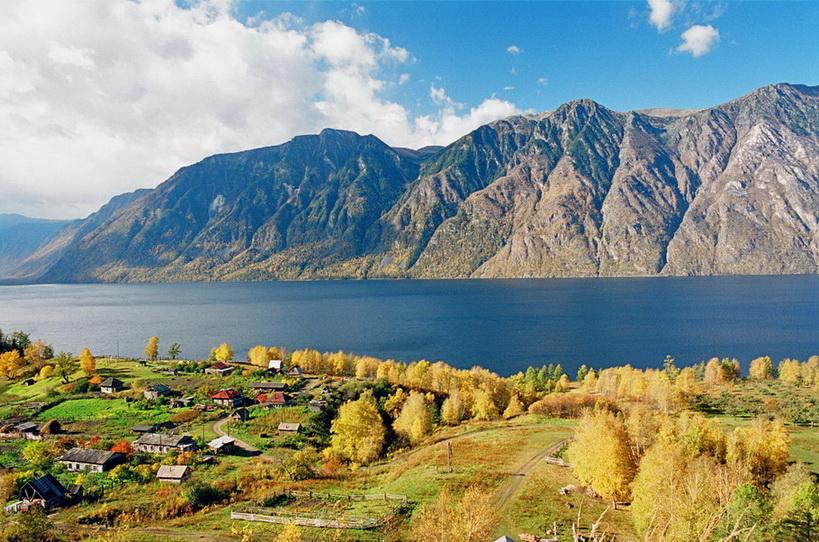Поселок Яйлю озеро фото Aleksandr-Lotov